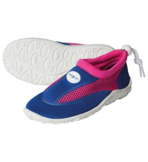 Aqua Lung Badesko - Cancun Jr - Royal Blue/Bright Pink