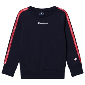 Champion Logo Tape Sweatshirt Navy 3-4 years