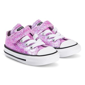 Converse Sparkly Chuck Taylor Kids Sneakers Lilac Mist 21 (UK 5)