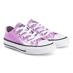 Converse Sparkly Chuck Taylor Sneakers Lilac Mist 30 (UK 12)
