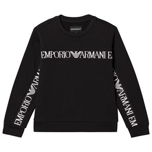 Emporio Armani Sweatshirt i Sort med Logo 8 years