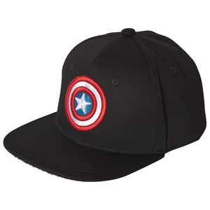 Fabric Flavours Captain America Comic Cap Black One Size