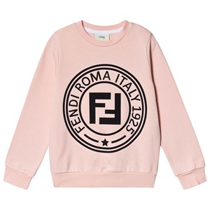 Fendi Roma Stamp Sweatshirt Pink 10 years