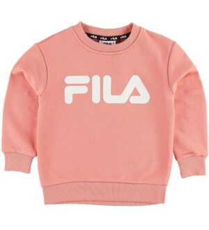 Fila Sweatshirt - Classic Logo - Lobster Bisque