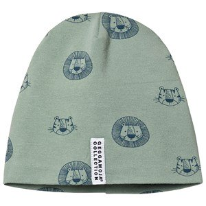 Geggamoja Tiger Fleece Beanie Green M (5-6 år)