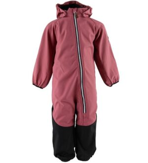 Hulabalu Softshell Dragt - Secret - Dark Coral