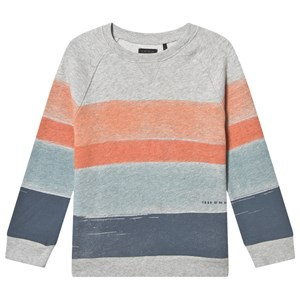 IKKS Multi Stribe Sweatshirt Grå 4 years