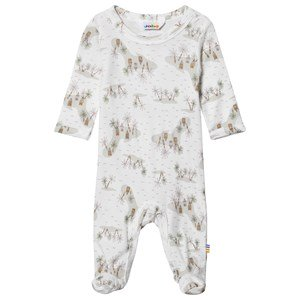 Joha Jumpsuit W/Foot Offwhite 50 cm (0-1 mdr)