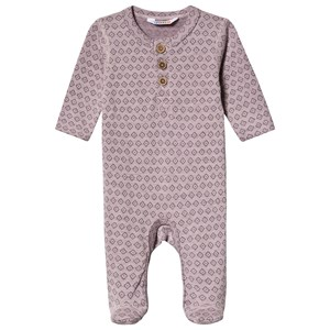 Joha Square Footed Baby Body Purple 70 cm (6-7 mdr)