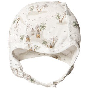 Joha Tropical Baby Hat Off White 37 cm (0-1 mdr)