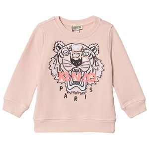 Kenzo Embroidered Tiger Logo Sweatshirt Bleg Pink 2 years