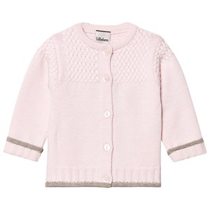 Lillelam Knitted Cardigan Pink 74 cm (6-9 mdr)
