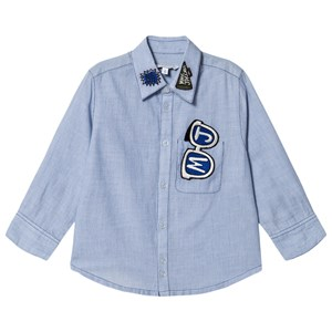 Little Marc Jacobs Solbriller Oxford Skjorte Blå 2 years