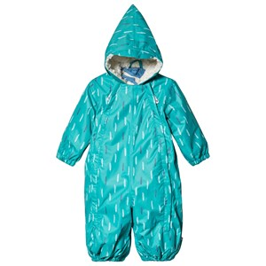 Muddy Puddles Grøn Feather Print 3 i 1 Scamp All-in-One Flyverdragt 0-6 months