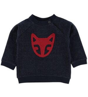 Noa Noa Miniature Sweatshirt - Dress Blue m. Ræv
