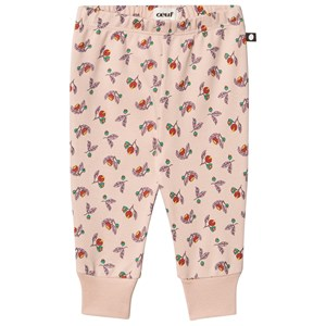 Oeuf Small Flowers Leggings Pink 3 Months