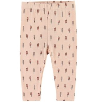 Petit by Sofie Schnoor Leggings - Lily - Rosa m. Ispinde
