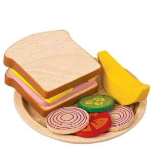 PlanToys Legemad - Sandwich