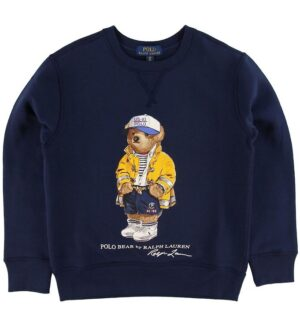 Ralph Lauren Sweater - Navy m. Bjørn
