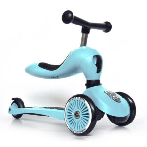 Scoot and Ride 2-i-1 løbehjul, Highway Kick 1 - blueberry