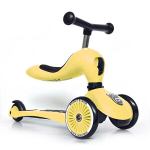 Scoot and Ride 2-i-1 løbehjul, Highway Kick 1 - lemon