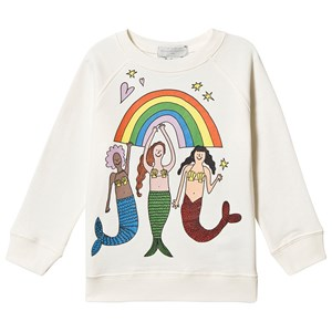 Stella McCartney Kids Mermaids Sweatshirt Hvid 3 years