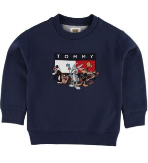 Tommy Hilfiger Sweatshirt - TJ x Looney - Navy