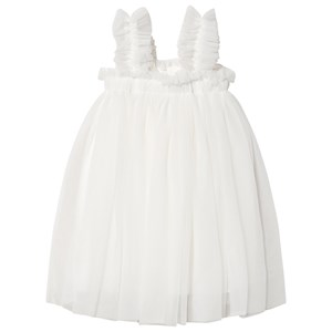 DOLLY by Le Petit Tom Tutu Beach Cover Up Kjole Off Hvid Small (4-6 Years)