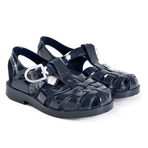 Emporio Armani Logo Jelly Sandals Navy 21 (UK 4.5)