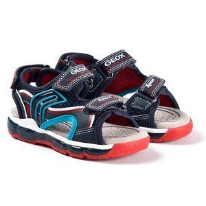 Geox Android Sandaler Navy/Red 25 EU