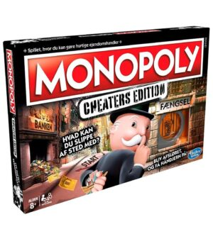 Hasbro Brætspil - Monopoly Cheaters Edition