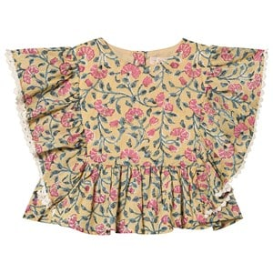 Louise Misha Izia Top Citron Blomster 3 Years