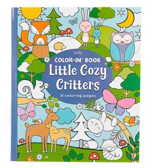 Ooly Malebog - Little Cozy Critters