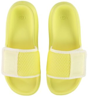 UGG Badesandaler - LA Light Slide - Gul/Hvid