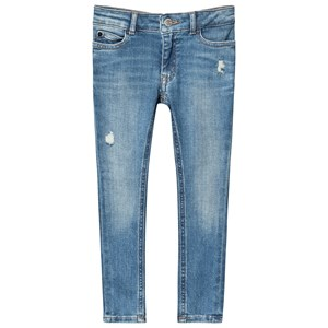 Calvin Klein Jeans Mid Blue Stretch Skinny Jeans 14 years
