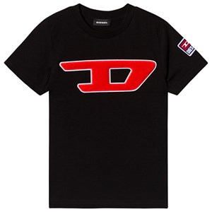 Diesel Sort Logo T-Shirt 4 years