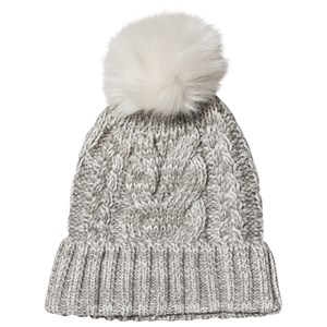 GAP Cable-Knit Pom Hue Grå Heather S/M (52-54 cm)