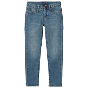 GAP Super Skinny Jeans Light Wash 7 (7 Years)
