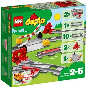 LEGO DUPLO 10882 LEGO® DUPLO® Train Tracks 2 - 5 years