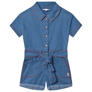 Little Marc Jacobs Chambray Embroided Logo Buksedragt Blå 3 years