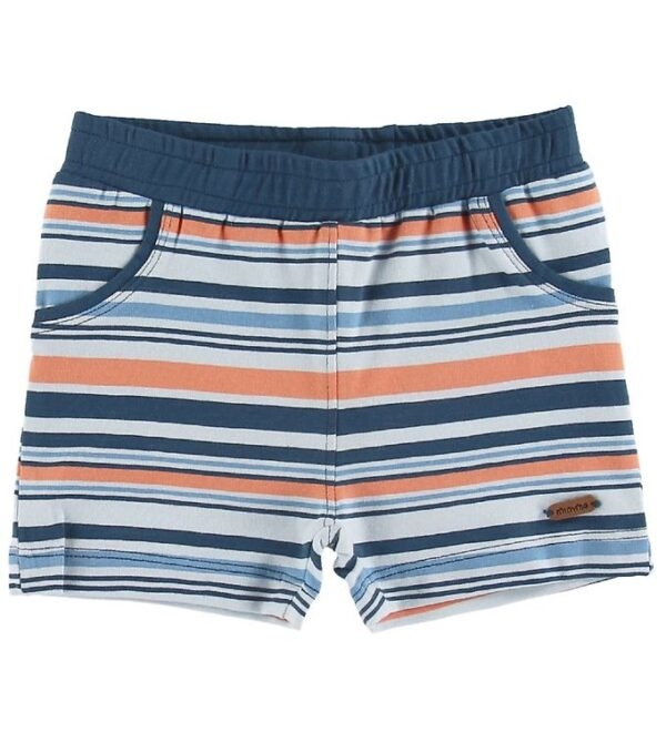 Minymo Shorts - Insignia Blue m. Striber