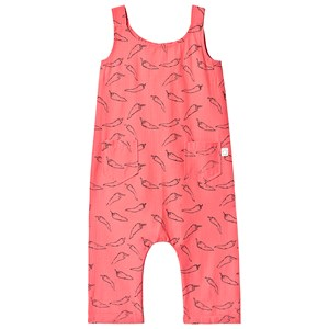 Sproet & Sprout Red Pepper Print Jumpsuit i Vævet bomuld 110-116 (5-6 years)