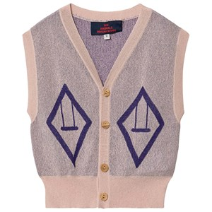 The Animals Observatory Bat Vest Soft Pink 3 Years