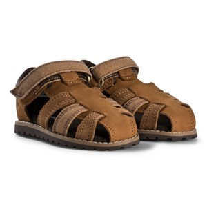 Timberland Toddler Pokey Pine Fisherman Sandals Brown 23 EU