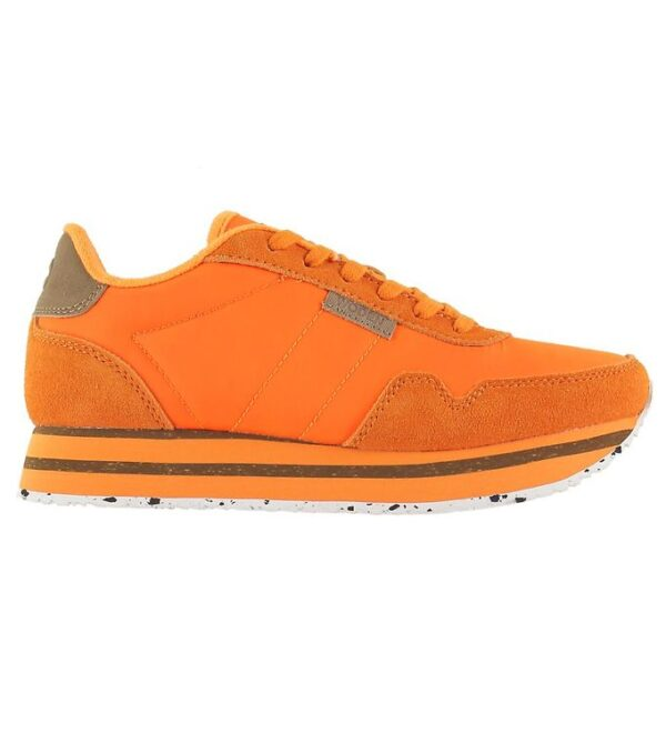 Woden Sko - Nora II Plateau - Bright Orange