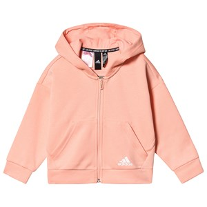 adidas Performance Pink Logo Cropped Hættetrøje 13-14 years (164 cm)