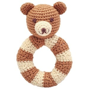 natureZOO Mr. Teddy Ring Rattle One Size