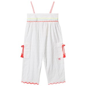 Billieblush Broderie Anglaise Jumpsuit White 3 years