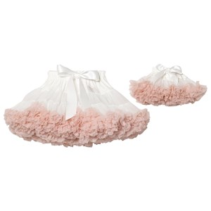 DOLLY by Le Petit Tom Petti Nederdel Cream Newborn (3-18 Months)