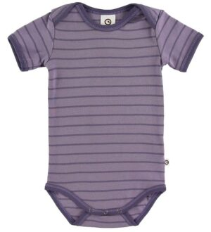 Müsli Body k/æ - Stripe - Ash